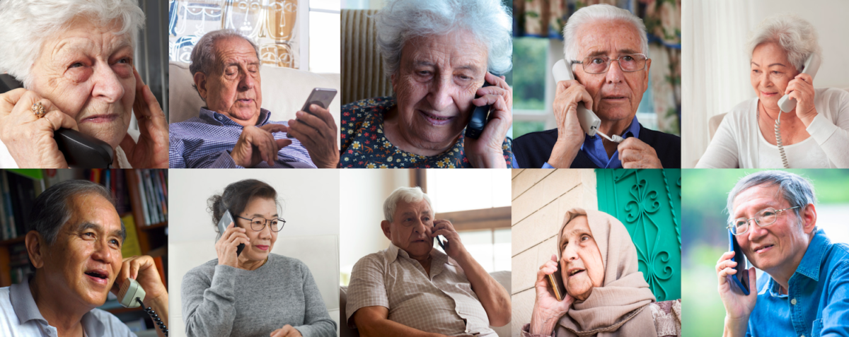 Partnership in the Multilingual Older Persons COVID-19 Support Line